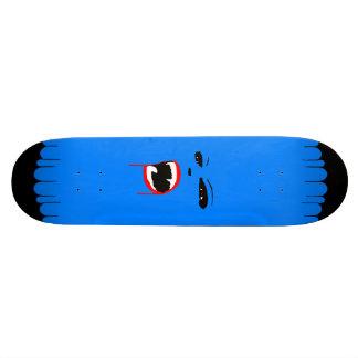 Blaues Vamp-Gewohnheits-Skateboard Skateboard