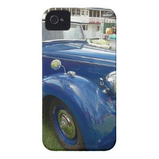 Blaues Vintages Auto Case-Mate iPhone 4 Hülle