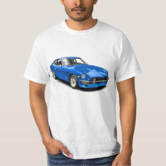 Blaues Vintages klassisches Z-Car-T-Shirt T-Shirt