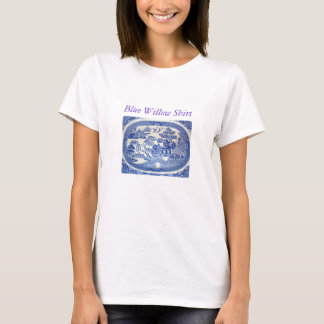 Blaues Weide-T-Shirt - sofortige Erinnerungen T-Shirt