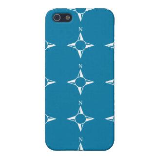 Blaues Weiß des rechtweisend Nord Hülle Fürs iPhone 5
