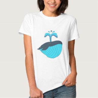 Blauwal blue whale T-Shirts