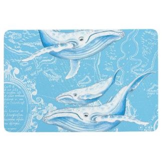 Blauwal-Familie Bodenmatte