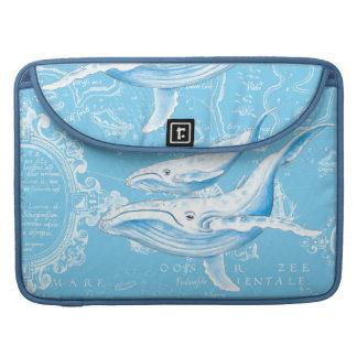 Blauwal-Familie Sleeve Für MacBook Pro