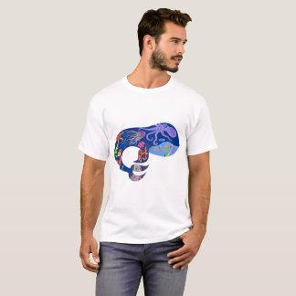 Blauwal, heller Marineentwurf, niedlicher Wal, T-Shirt
