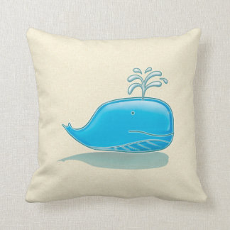 Blauwal Kissen