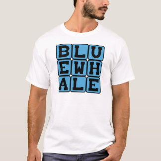 Blauwal, Meeressäugetier T-Shirt