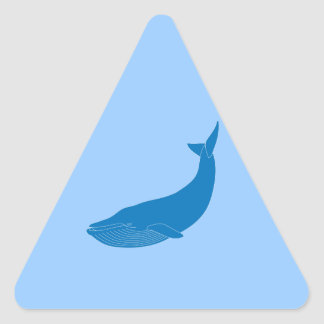 Blauwal-Meeressäugetier-Tier-Ozeane Stickers