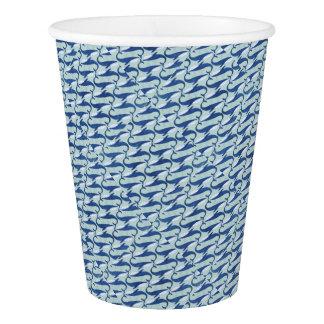 Blauwal-Muster - durch Jago Pappbecher