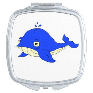 Blauwal Taschenspiegel