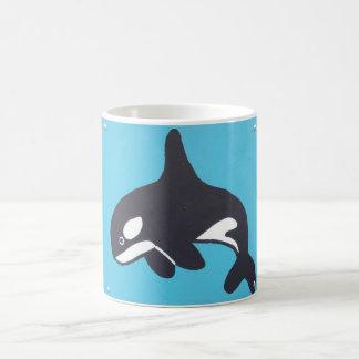 Blauwal-Tasse Tasse