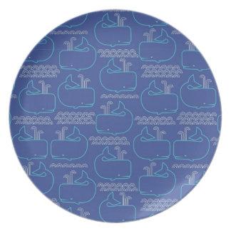 Blauwale Flacher Teller