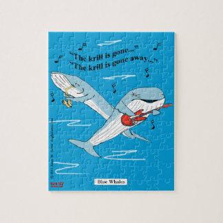 """""""Blauwale """" Foto Puzzles"""