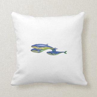 Blauwale Zierkissen