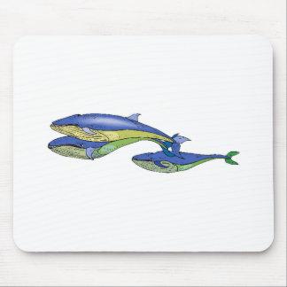 Blauwale Mauspad