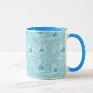 Blauwale Tasse