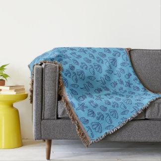Blauwale und Seeleben Decke