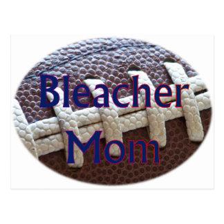 Bleacher-Mamma-Fußball Postkarte
