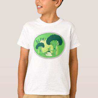 Bleh Brokkoli, der Kuchen zurückweist T-Shirt