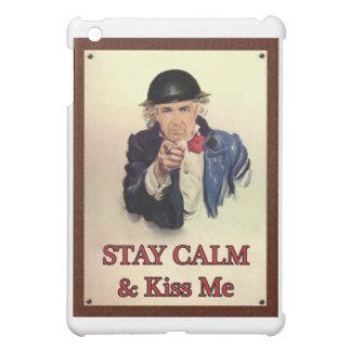 Bleiben Sie Ruhe u. küssen Sie mich iPad Mini Hülle