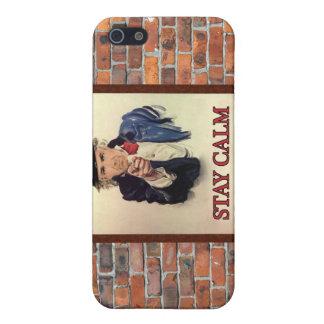 Bleiben Sie Ruhe u. küssen Sie mich iPhone 5 Case