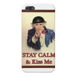 Bleiben Sie Ruhe u. küssen Sie mich Schutzhülle Fürs iPhone 5