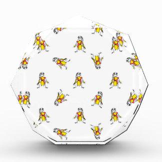 Bleistift, der Vogelscheuche-Muster-Entwurf Auszeichnung