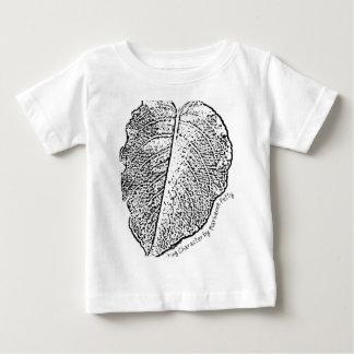 Bleistift-Skizze-Blatt Baby T-shirt