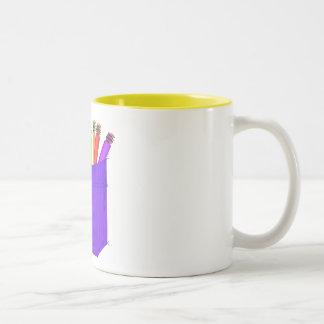 Bleistift-Tasche Zweifarbige Tasse