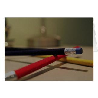 Bleistifte 1 karte