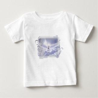 Blendungs-Fliegen-Einhorn-Umbau-Reihe Baby T-shirt