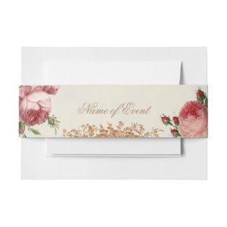 Blenheim Rose - Sommer-Himmel-Karte schön romant Einladungsbanderole