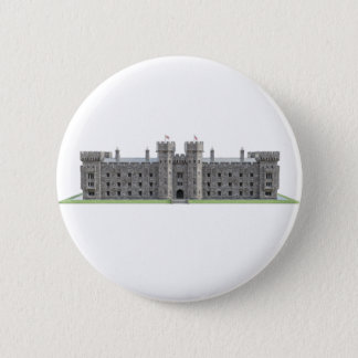Blenheim Schloss Runder Button 5,7 Cm