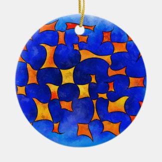 Blesmios V1- schmelzende Würfel Keramik Ornament