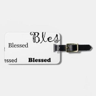 Blessed11 Gepäckanhänger