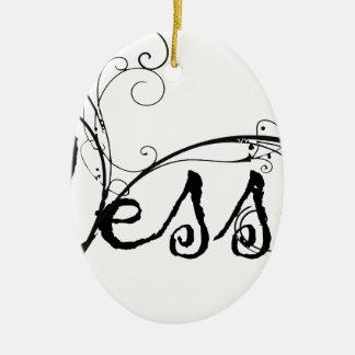 Blessed9 Keramik Ornament