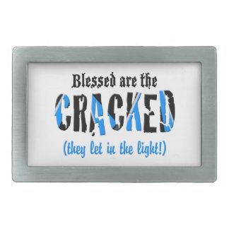 Blessed sind das GEBROCHENE! Rechteckige Gürtelschnalle