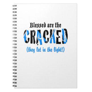 Blessed sind das GEBROCHENE! Spiral Notizblock