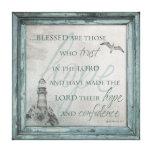Blessed sind die, die auf den Lord Canvas vertraue Gespannter Galeriedruck