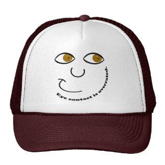 Blickkontakt ist überbewertete Hüte Baseball Mützen