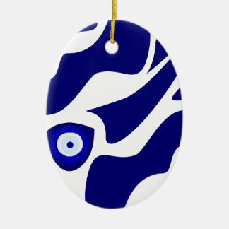 Blicks-Lava-Muster Keramik Ornament