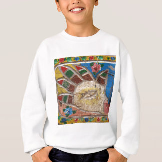 Blicks-Schutz Hamsa Hand Sweatshirt