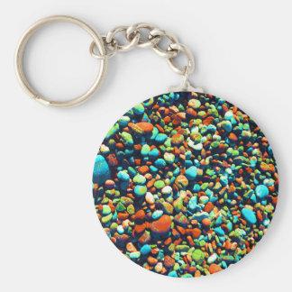 Blinde Strand-Felsen Schlüsselanhänger