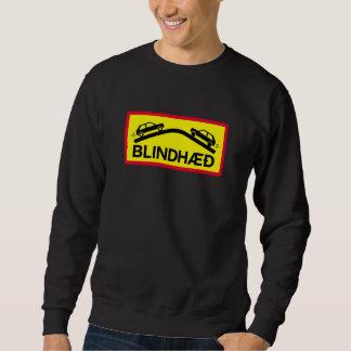 Blinder Aufstieg, Verkehrszeichen, Island Sweatshirt