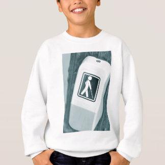 Blinder Zeichenentwurf Sweatshirt