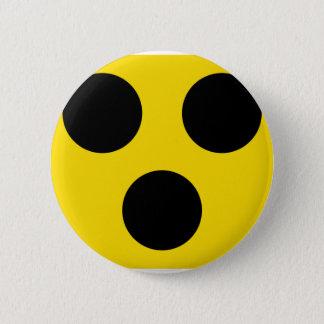 blindes Zeichen Runder Button 5,1 Cm