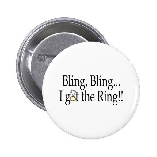 Bling Bling erhielt ich den Ring Button