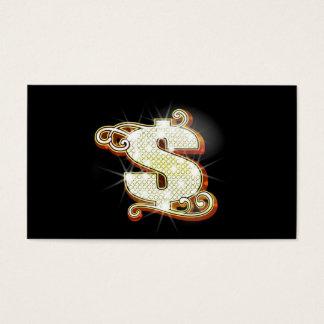 Bling Geld-Visitenkarten Visitenkarten
