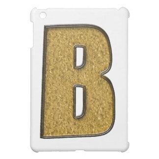 Bling Gold B iPad Mini Hülle