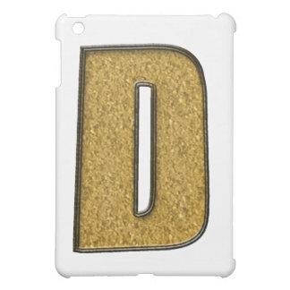 Bling Gold D iPad Mini Hülle